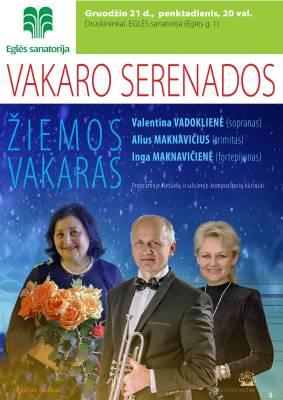 VAKARO SERENADOS. Žiemos vakaras