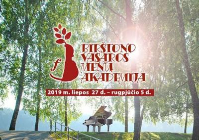 BIRŠTONO VASAROS MENŲ AKADEMIJA 2019