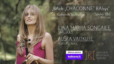 ",,BAch ,,CHACONNE"" BAlsys"""