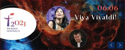 """Viva Vivaldi!"" Vivica Genaux ir ""Les Accents"""