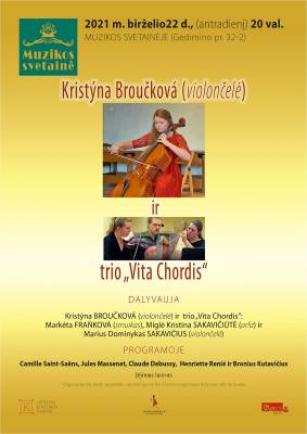 """Kristýna Broučková ir trio """"Vita Chordis"""""""