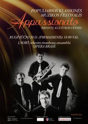 Kviečia muzikos festivalis APPASSIONATO