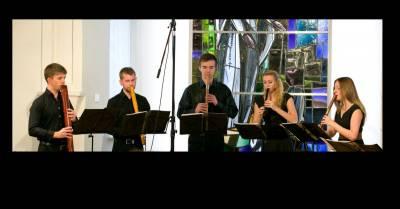 """Medynės 2021. Nacionalinės Lvovo filharmonijos ukrainietiškų fleitų (sopilkų) kvartetas """"Dudalis"""" (Ukraina)"""