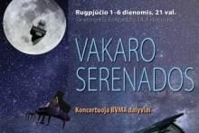 Vakaro serenados sanatorijoje EGLĖ