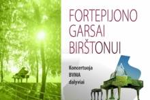 FORTEPIJONO GARSAI BIRŠTONUI