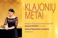 KLAJONIŲ METAI. Dainuoja Jomantė Šležaitė
