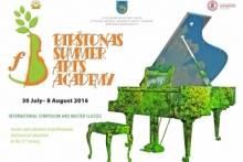 BIRŠTONAS SUMMER ARTS ACADEMY 2016