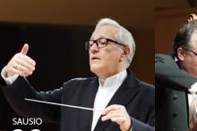 """""""Kaukazietiška sakmė"""". Dirigentas David Geringas (Lietuva–Vokietija), Klaipėdos kamerinis orkestras."""
