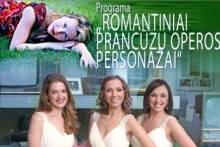 """""""ROMANTINIAI PRANCŪZŲ OPEROS PERSONAŽAI"""""""