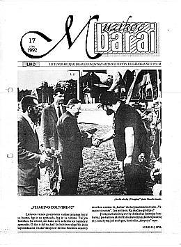 Muzikos barai, 1992, 17 (120)
