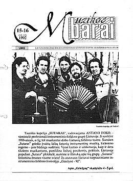 Muzikos barai, 1992, 15–16 (118–119)