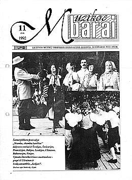 Muzikos barai, 1992, 11 (114)