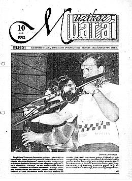 Muzikos barai, 1992, 10 (113)