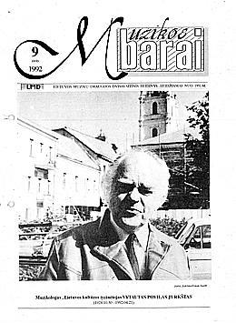 Muzikos barai, 1992, 9 (112)