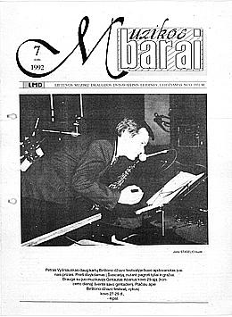 Muzikos barai, 1992, 7 (110)