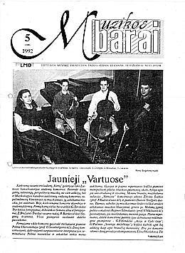 Muzikos barai, 1992, 5 (108)