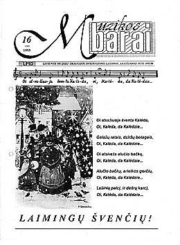 Muzikos barai, 1993, 16 (143)