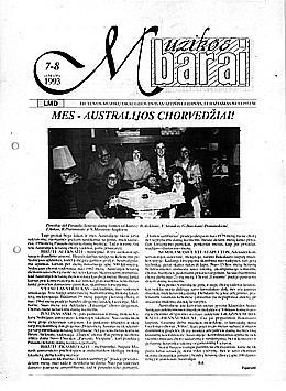 Muzikos barai, 1993, 7–8 (134–135)