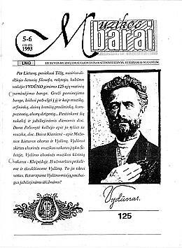 Muzikos barai, 1993, 5–6 (132–133)