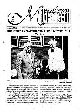 Muzikos barai, 1993, 4 (131)