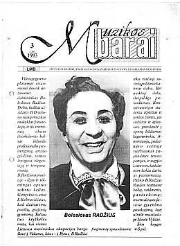 Muzikos barai, 1993, 3 (130)