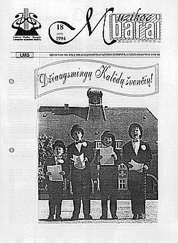 Muzikos barai, 1994, 18 (161)