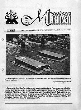 Muzikos barai, 1994, 16 (159)