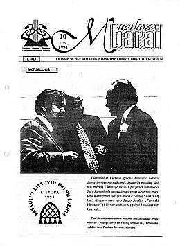 Muzikos barai, 1994, 10 (153)