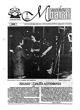 Muzikos barai, 1994, 8 (151)