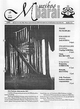 Muzikos barai, 1995, 17 (178)