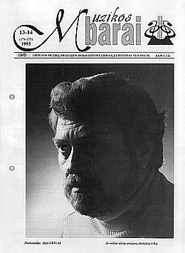 Muzikos barai, 1995, 13–14 (174–175)