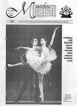 Muzikos barai, 1995, 11–12 (172–173)