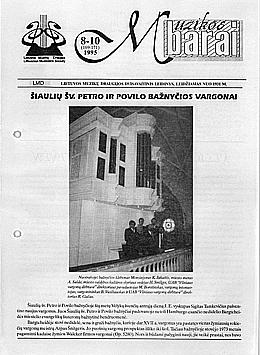 Muzikos barai, 1995, 8–10 (169–171)