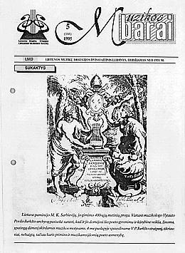 Muzikos barai, 1995, 5 (166)