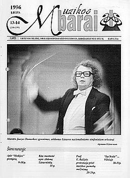 Muzikos barai, 1996, 13–14 (198–199)