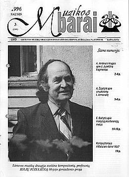 Muzikos barai, 1996, 3 (188)