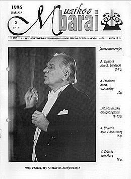 Muzikos barai, 1996, 2 (187)