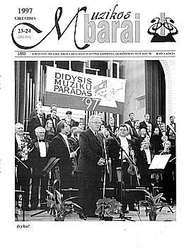 Muzikos barai, 1997, 23–24 (232–233)