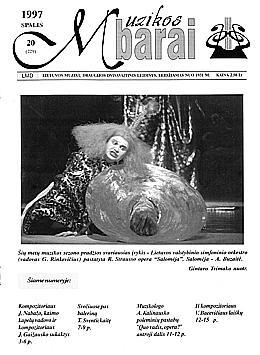 Muzikos barai, 1997, 20 (229)