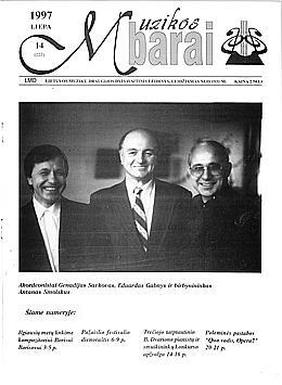 Muzikos barai, 1997, 14 (223)