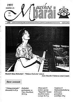 Muzikos barai, 1997, 11 (220)