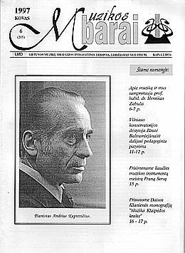 Muzikos barai, 1997, 6 (215)