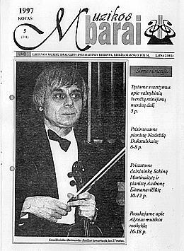 Muzikos barai, 1997, 5 (214)