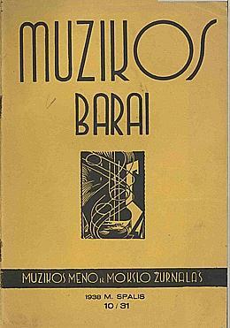 Muzikos barai, 1938, 10