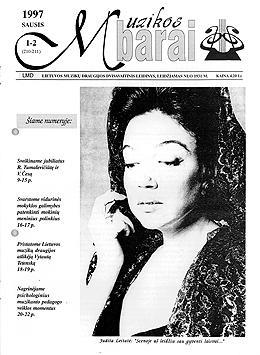 Muzikos barai, 1997, 1–2 (210–211)