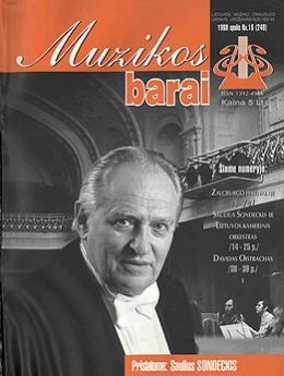Muzikos barai, 1998, 16 (249)