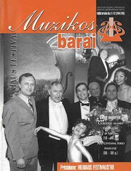 Muzikos barai, 1998, 11–12 (244–245)