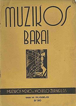 Muzikos barai, 1938, 9