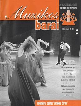 Muzikos barai, 1998, 9–10 (242–243)