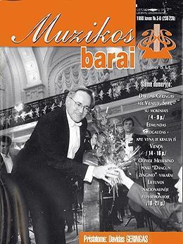 Muzikos barai, 1998, 5–6 (238–239)